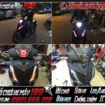 Xem hình Xe Honda Sh Việt Nam 125i 2014 độ full dàn áo lên Sh italy 150i 2011 466476