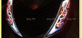 Chuyên độ đèn led audi cho xe SH Ý 150i tại Shop đồ chơi xe máy 199 ở Sài Gòn