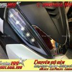 Photo chế đèn led audi cho xe máy SH 300i 2008 2016 2016 đẹp đẳng cấp ở Tp HCM Quận 3 2000-2017