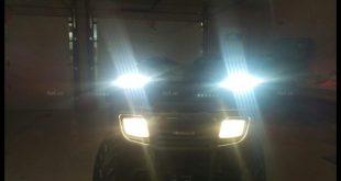 Image led bar <strong>độ đèn Ford Ranger</strong>: Chiếc bán tải với đèn led bar vô vùng sáng độ đẹp và chất