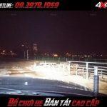 Hình ảnh đèn led bar ô tô: bán tải và xe 4 bánh gắn đèn led bar để trợ sáng khi đi đường vào ban đêm