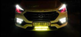 Một số kiểu led bar độ đèn Ford Ranger 2019 đẹp và thể thao ở TpHCM
