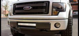 Có các mẫu Led bar ô tô nào đấu cho xe bán tải Ford Ranger 2019 2018 tại Việt Nam và nên gắn ở đâu tại Sài Gòn?